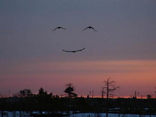 Gods smile