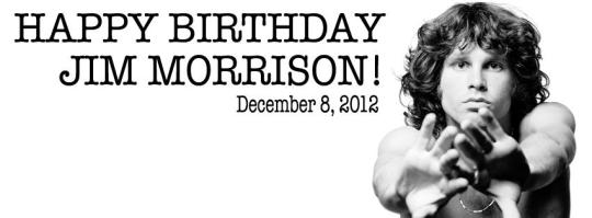 Remembering Jim Morrison on his 69th Birthday!