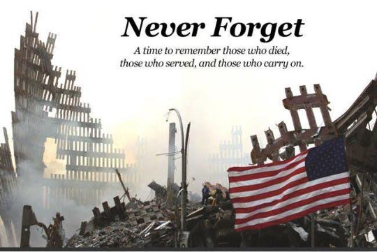 Remembering and Honoring Those Who Gave Their All on September 11, 2001-click picture for full article!