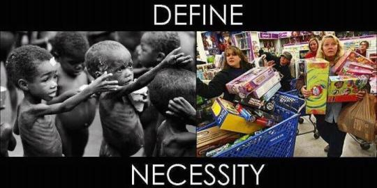 What Is The Difference Between Necessity And Want? Click Picture For Article