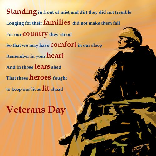 Honoring All Veterans! Click Picture To Read More