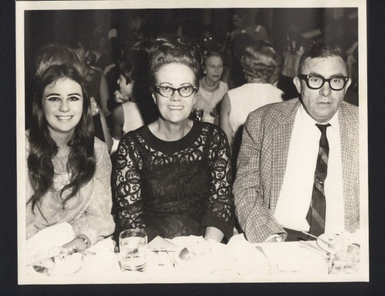Me , My Mother and Father in 1967
