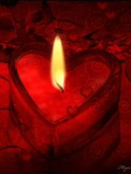 red-candle-heart