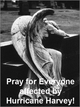 Pray for everyone affected by Hurricane Harvey!