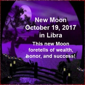 New Moon October 19 2017