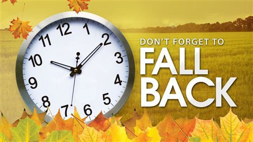 Fall Back Daylight Savings Time