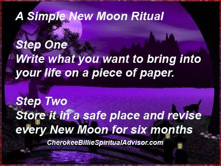 A Simple New Moon Ritual