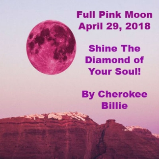 Full Pink Moon April 29, 2018 400