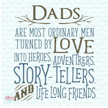 Dads are Ordinary Men