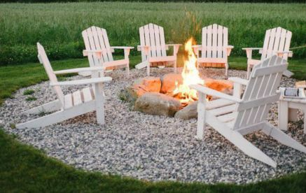 outdoor fire pit cut