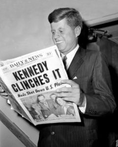 A Childhood Memory - Billie's First Vote. Click picture to read my memoir about voting for John Kennedy.