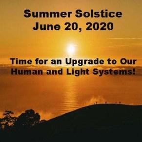 Summer Solstice June 20, 2020